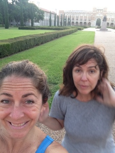 Early morning walks around Rice University are perfect before a long day of poking and prodding! Especially when they involve my sister, Monica.