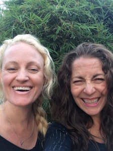 Amanda and I. Darling friend and Pilates guru. These was when things started to get bad and she still made me laugh. Thank god.